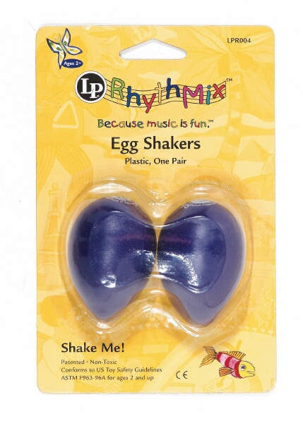 Kids Praise Shaker Purple Grape Set of 2