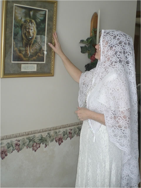 Prayer Veil Bride