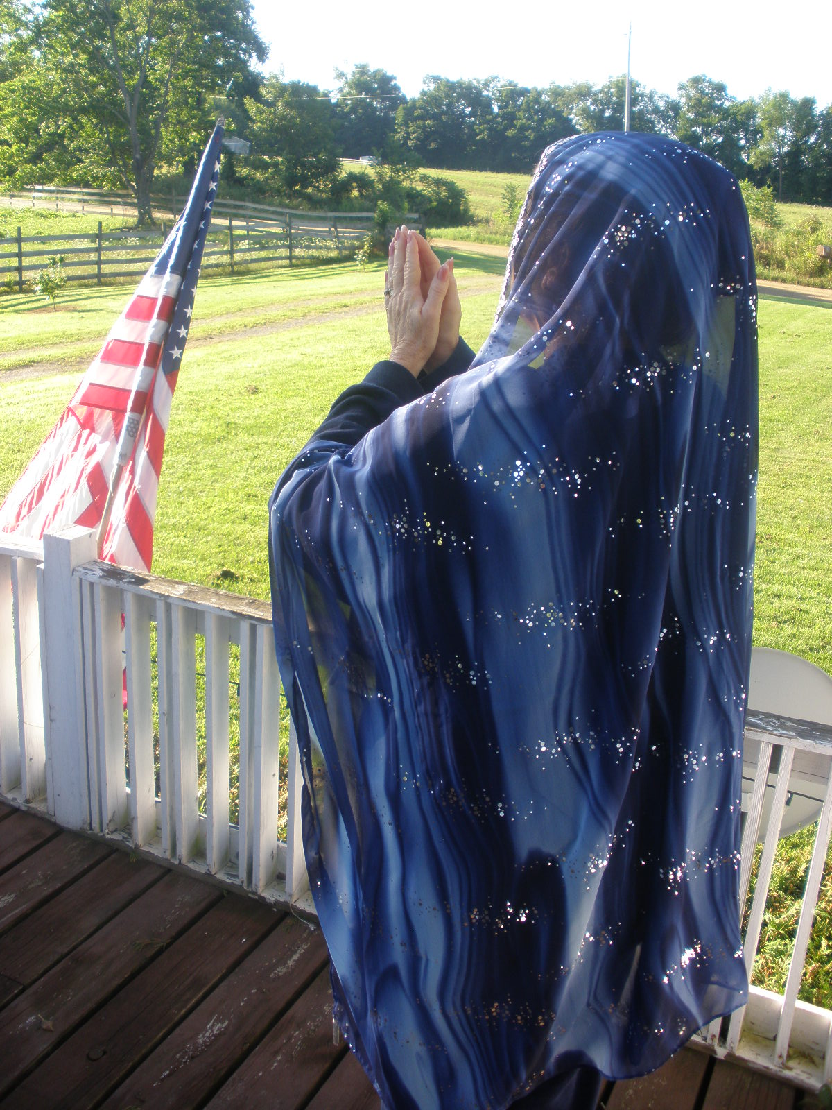 Prayer Veil Midnight Watchman Head Covering