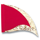 RED GOLD PRAISE WORSHIP SWING FLAG WPSF51